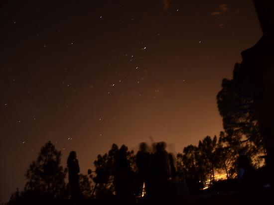 Stars night at Desierto de las Palmas Na