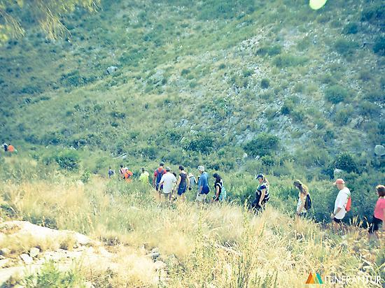 Interpretive hiking route