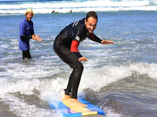 Surf courses all year long