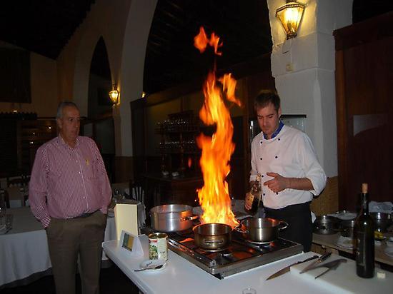 El chef Javier Muñoz