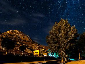 Hostel of Aliaga under The Milky Way