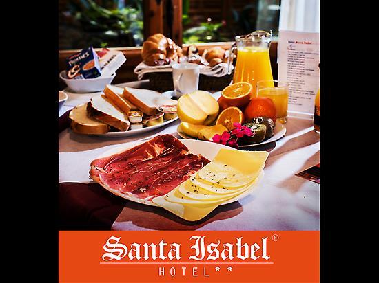 Desayuno Continental Santa Isabel
