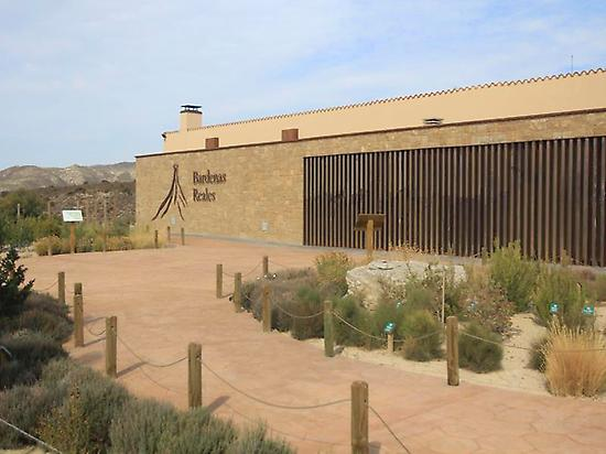 Information Center of las Bardenas