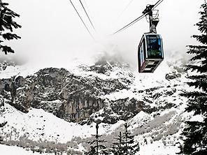 Access by cable car Fuente Dé