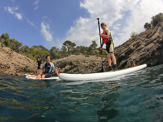 Multiactividad Stand-up-Paddle