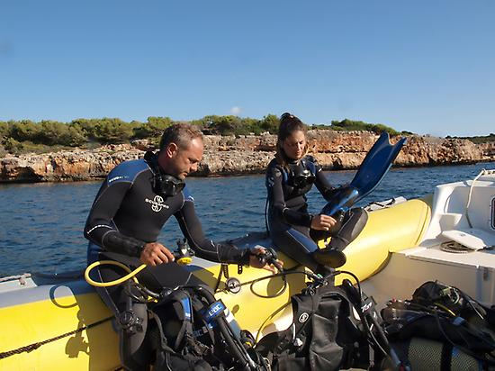 Discover scuba diving in Mallorca