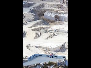 white marble quarries .