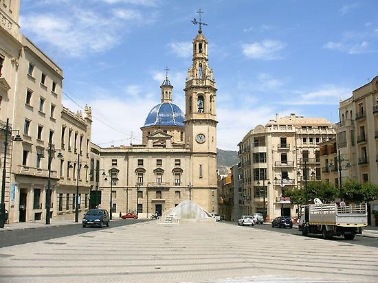 Spanish Square in Alcoy.