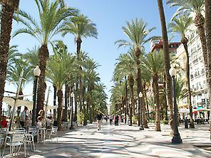 Spanish Explanade, Alicante.
