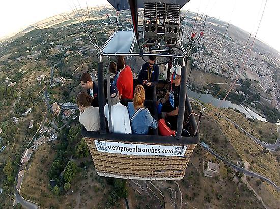 Balloon ride in Toledo