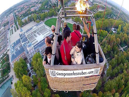 Balloon ride in Aranjuez