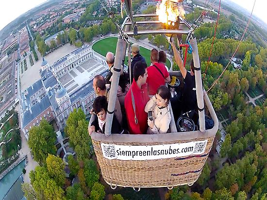 Balloon ride in Aranjuez