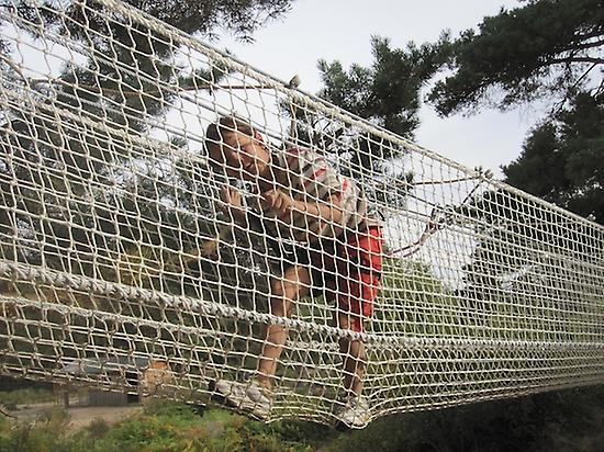 Net tunnel for children