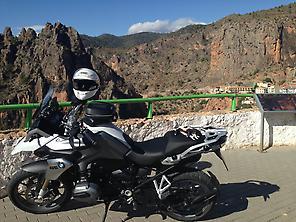 Rutas en moto BMW por Murcia, Alicante y