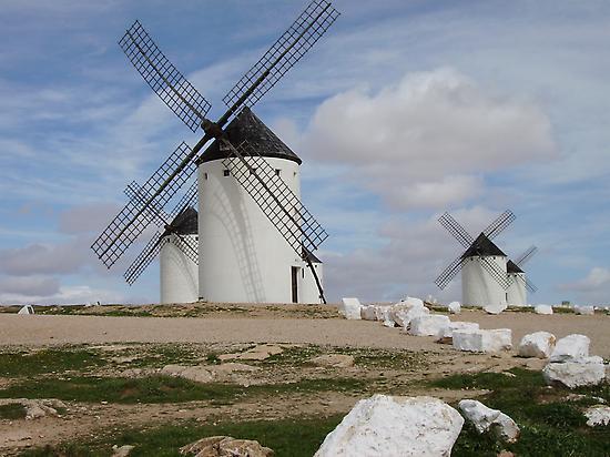 Windmills of Campo de Criptana