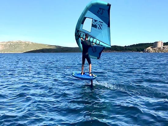 Wing Foiling in Menorca