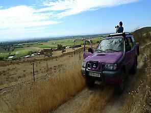 Discover in a 4x4 vehicle