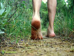 Senderismo descalzo