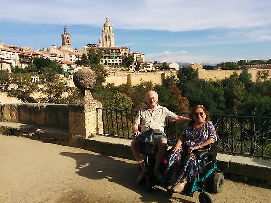 Accessible tour in La Granja and Segovia