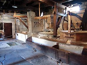 The mill inside