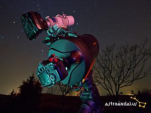 Astrophotography in Andújar.