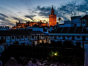 Saborea Sevilla frente a la Giralda