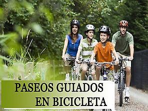 PASEOS GUIADOS EN BICICLETA