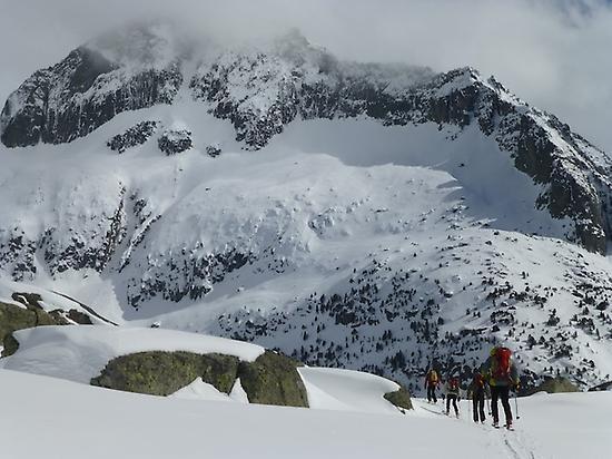 Ski Touring Carros de Fuego. Spain