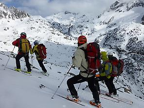 Ski Touring Carros de Fuego. Spain