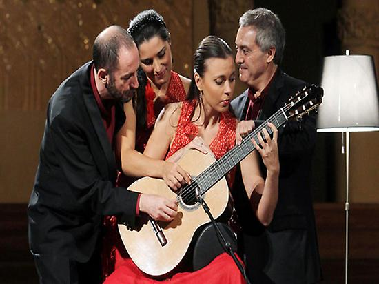 Spanish Guitar at the Palau
