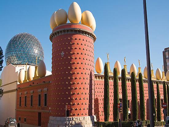 Figueres, Dalí et Girona