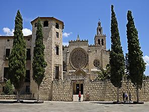 Sant Cugat Monastery and vintage village