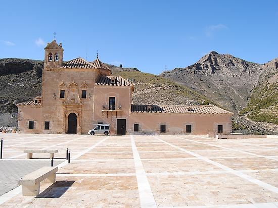 The Virgen del Saliente's sanctuary