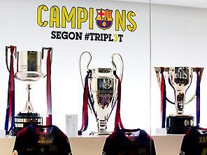 Trophy FC Barcelona, Camp Nou