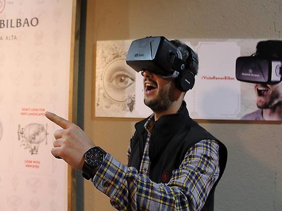 Óculus reality virtual experience