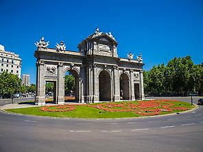 Puerta de ALcala, Madrid.