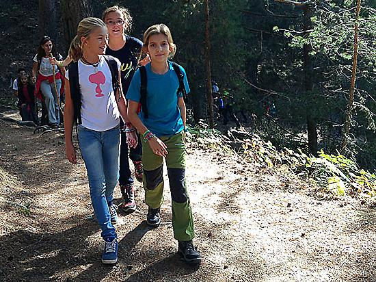 Hiking tours for family and children.