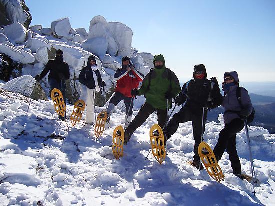 Excursiones Raquetas de Nieve en Madrid