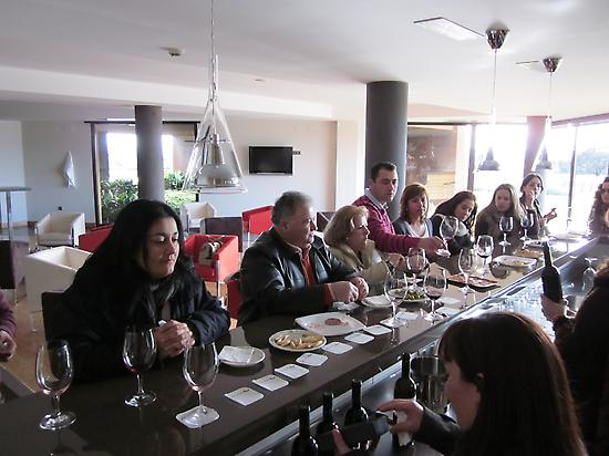Wine tasting and tapas
