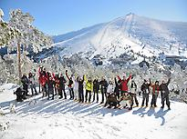 Escursioni con le ciaspole nella Sierra