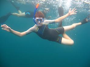 Fun underwater