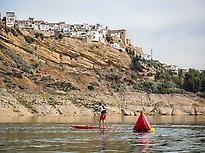 Paddle Surf in Iznájar Reservoir