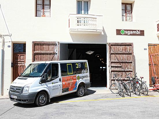 Esgambi: Bike hire in Horta de Sant Joan
