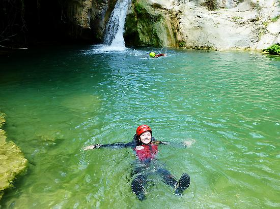 View of Water canyoning.