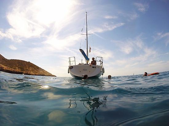 Sailing view.