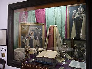 Relics of Santa Teresa