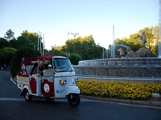 An original way to enjoy Madrid!
