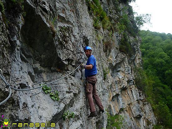 Ferrata route: Vidosa in Asturias
