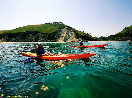 Sea kayak excursions in Asturias