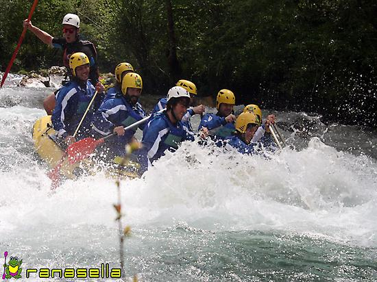 Rafting in Asturias and Cantabria